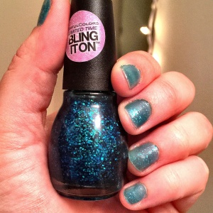 """Teal Midnight"" - Kylie Jenner for Sinful Colors"
